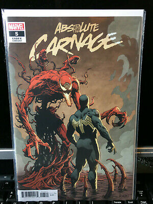 ABSOLUTE CARNAGE #5 1:25 RIVERA CODEX retailer incentive variant AWESOME