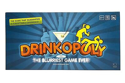Drinkopoly Drinking Game for Adults/Students