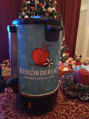 Rekorderlig Electric Mulled Wine Cider Warmer kettle Mancave christmas home bar