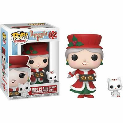 Funko Pop! Holiday: Peppermint Lane - Mrs. Claus and Candy Cane Vinyl Figure