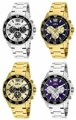 Invicta Men's Specialty 45mm Stainless Steel Chronograph Watch 25753-25756
