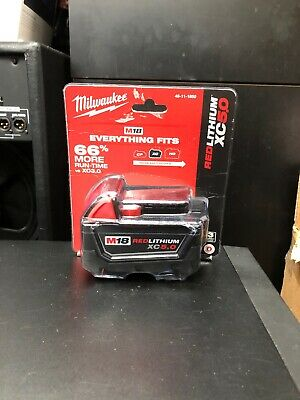 NEW!! Milwaukee M18 Red Lithium XC 5.0Ah Battery (48-11-1850) (E10)