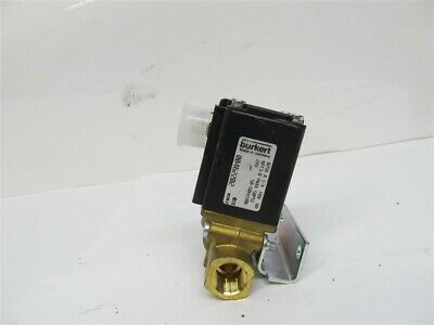 Burkert, 00462202, Type 0256 A ,Direct Acting Plunger Solenoid Valve,1/2""