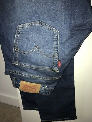 Boys LEVI'S 511 SKINNY BLUE STRETCH DENIM JEANS AGE 12
