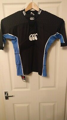Canterbury Rugby Shoulder Pads Flexitop Black 100/% Authentic