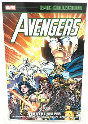 Avengers Epic Collection Vol 23 Fear The Reaper Marvel Comics New TPB Paperback