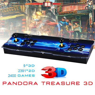 Pandora's Box 12 3188 in 1 Video Games 4 Player Retro Arcade Console 3D HD Fr PC