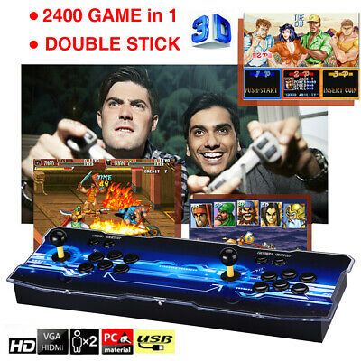 Pandora's Box 9 2400 in 1 Video Gaming 2 Player Retro Arcade Console HD 3D