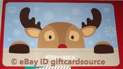EB GAMES//GAME STOP GIFT CARD CANADA BEAVER SNOWFLAKES NO VALUE NEW HOLIDAY 2018