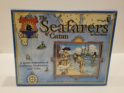 THE SETTLERS OF CATAN: THE SEAFARERS OF CATAN NEW Sealed Cards by Klaus Teuber