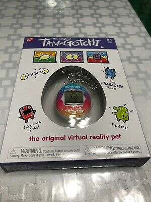 2018 Tamagotchi Gen 1 Rainbow The Original Virtual Reality Pet NIB