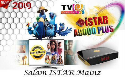 istar korea A9000 mit 12 monate online tv Top-Modell 2019
