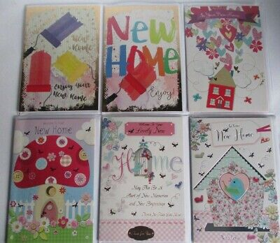 NEW HOME CARDS 6 DESIGNS ONLY £1.59 EACH