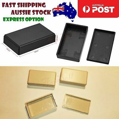 3pcs Black/White Electronic Plastic ABS DIY Project Junction Box Enclosure Case