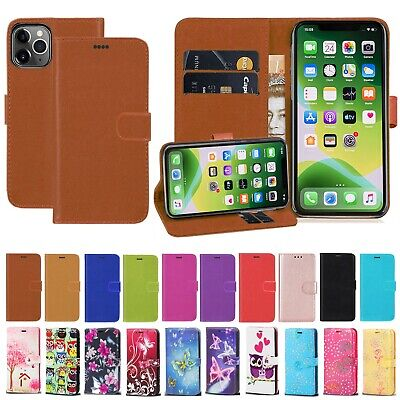 For Apple iPhone 11 11 Pro Max PU Leather Wallet Flip Stand Magnetic Case Cover