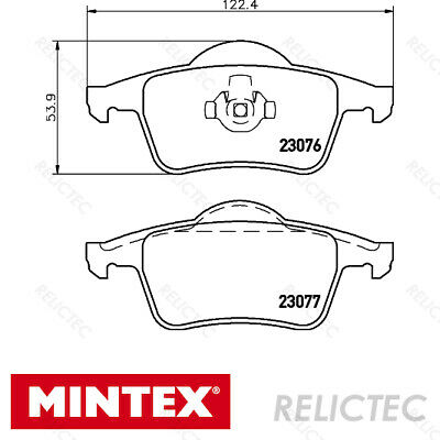 FRONT MINTEX BRAKE PADS SET FOR TOYOTA HILUX CHOICE 2 BRAND NEW 2007-