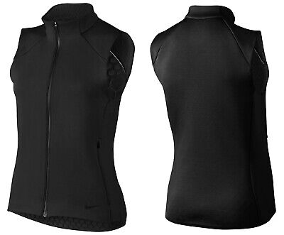 Nike Therma Sphere Max Women's Warm Vest Black Uk Size Small Rrp £69.99