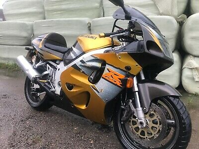 Suzuki Gsxr 750 1997 Srad Only 1 Owner And 22K Miles Light Project