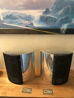 B&o Bang & Olufsen Beolab 4000 Set  black Metal Fronts