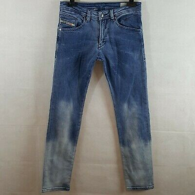 Diesel Kid Belther J Jeans Blue 12 Years Cotton Regular Slim Tapered W28 L30