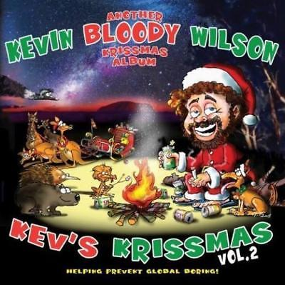 KEVIN BLOODY WILSON Kev's Krissmas Vol. 2 CD BRAND NEW Digipak Christmas Album