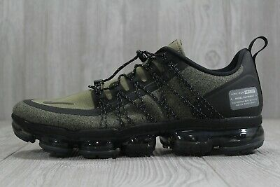 47 Nike Air Vapormax Run Utility Olive AQ8810-201 Running Shoes Sz 12.5, 14