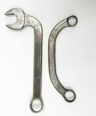 """Vintage BARCALO 5/8"""" Manifold 3/4"""" Starter & 7/8"""" BARCALO Obstruction Wrenches"""