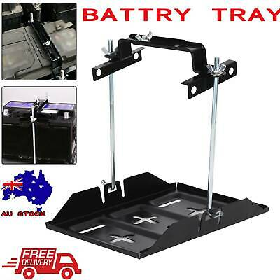 342x 200mm Large Universal Car Battery Tray Hold Down Clamp Adjustable 135-190mm