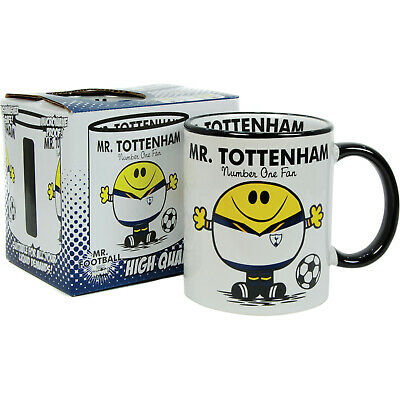 Tottenham FC Mug. Gift for Man Football Soccer Present Xmas Idea Spurs