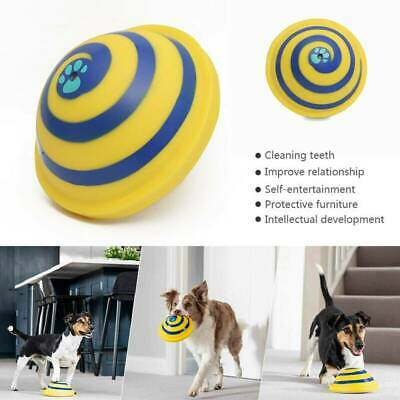 For Woof Glider Squeaky Dog Toy Sounding Disc Indoor Safe Fun Play All Dog Type