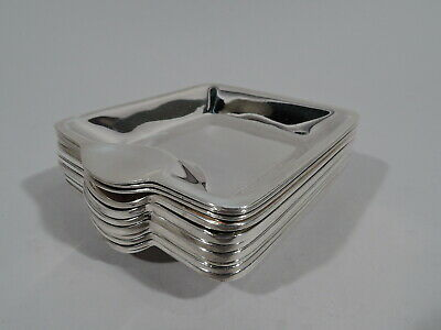 Tiffany Ashtrays - 19099 59001 - 12 Nut Dishes Bowls - American Sterling Silver