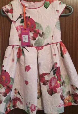 Brand New Tagged Stunning Genuine Ted Baker Party Dress Aged 7 Years