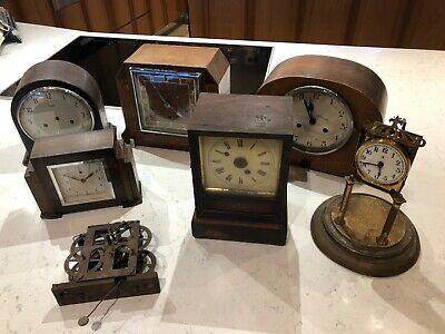 antique vintage mantle clocks for restoration