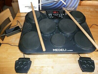 Medeli DD305 Portable Electronic Digital Drums Drum Kit Very Good Condition