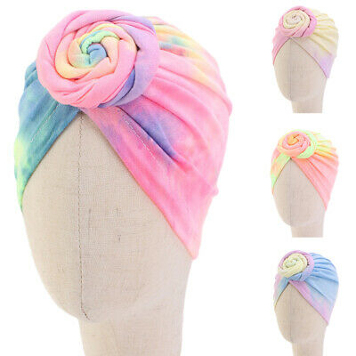 Baby Girl Hat Infant Knot Hair Loss Turban Beanie Hats Head Wrap For Kids Cap