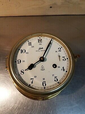Schatz German Royal Mariner Brass 8 Day Clock