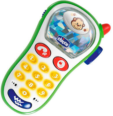 Chicco Baby Toy Cell Phone Vibrating Photo First Activity Educational Toys
