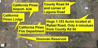 HUGE 1.183 Acres! LOW PRICE! ROAD Access! Minutes from Co Rd 54! GREAT LOCATION!
