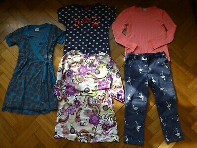 Bundle 5 items 9 years girls clothes all NEXT trousers, tops and dresses