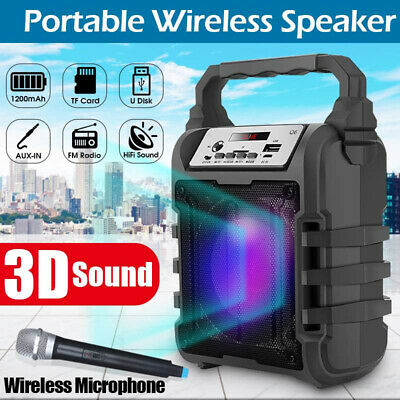 3D Wireless bluetooth Speaker Portable Sound Box Bass Stereo Subwoofer