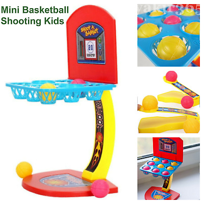Mini Basketball Desktop Kit Game For Kids Toys Family Party Jordan Playing Board