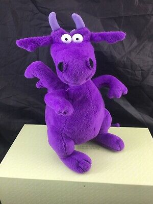 Seretide *Purple Dragon *Promotional Asthma Soft Plush Toy. 25Cm
