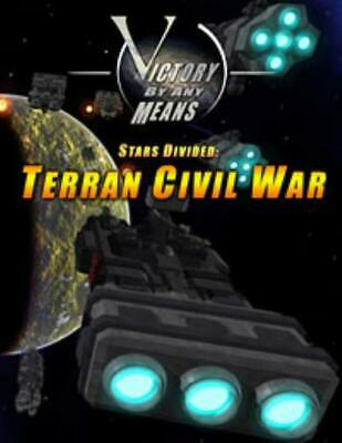Victory By Any Means Mini Rules Stars Divided - Terran Civil War SC MINT