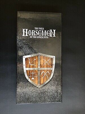 Four Horsemen Of The Apocalypse 4 Piece Ngc Slab Display Box Only Silver.