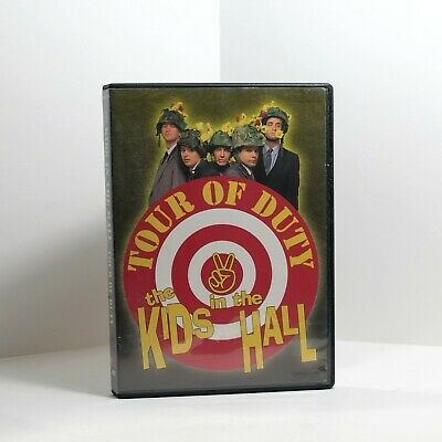 The Kids in the Hall - Tour of Duty (DVD, 2003)  Canadian Sketch Comedy