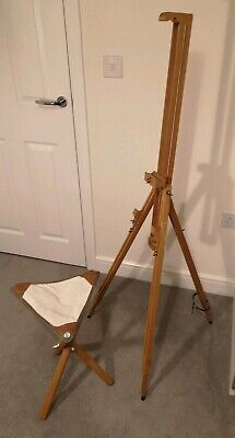 Mabef  Artists Lightweight Field/Travel Wooden Easel and stall
