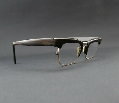Quality 1950s/60s Stylish Vintage West German Optura Browline Spectacles Glasses