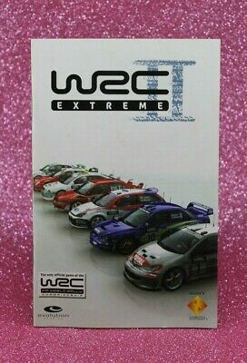 Instruction Booklet/Manual Only For Wrc Ii Extreme Ps2 (No Game) ❄️ Oz Seller