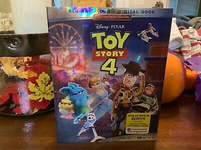 Toy Story 4 (Blu-ray + DVD + Digital; 2019) With Slipcover