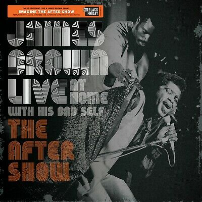 James Brown LIVE AT HOME WITH HIS BAD SELF: AFTER SHOW BF RSD 2019 New Vinyl LP